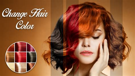 hair color change app change hair color android apps on play