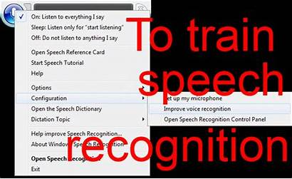 Speech Recognition Training Start Windows Voice Ultimate