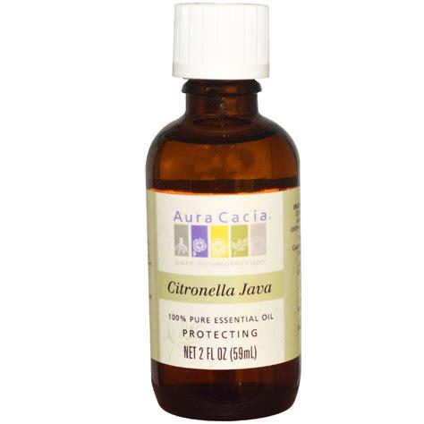 aura cacia 100 pure essential oil citronella java 2 fl