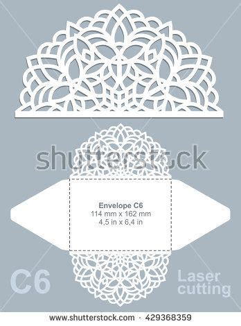 c6 envelope template ai vector die cut envelope template for laser cutting