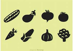 Vegetable Silhouette Free Vector Art - (355 Free Downloads)