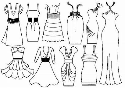 Coloring Pages Fancy Dresses Printable