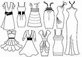 Coloring Pages Fancy Dresses Printable Getcolorings sketch template
