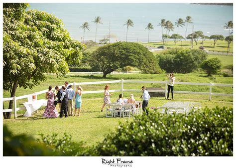 hawaii kualoa ranch wedding at paliku gardens by right frame
