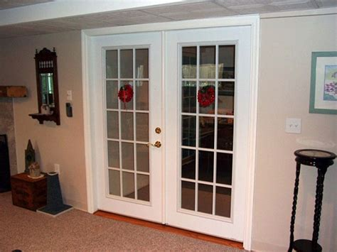 Interior French Doors With Glass Antique  Interior French