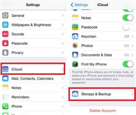 to delete icloud account on iphone tips to delete iphone backups from icloud how to
