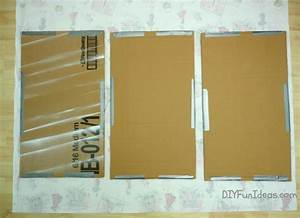 SUPER EASY FABRIC PANEL DIY WALL ART ON A BUDGET - Do-It