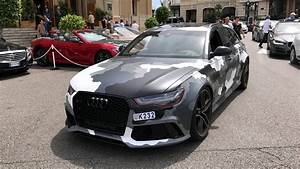 Audi Monaco : camo audi rs6 start up rev monaco youtube ~ Gottalentnigeria.com Avis de Voitures