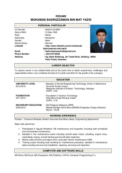 My Resume by My Resume