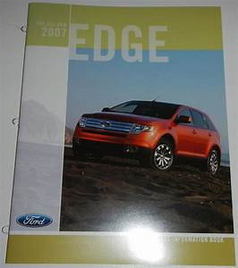 Purchase 2007 Ford Edge Product Information Book Brochure Motorcycle In Clawson  Michigan  Us