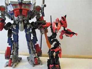 Transformers Revenge of the Fallen Arcee toy review - YouTube