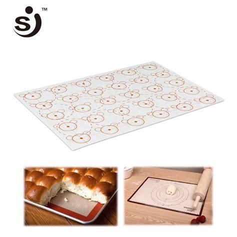 sheet baking cartoon glass liner sj brand stick silicone non fiber tray liners cm