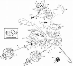 Power Wheels Trail Beast Parts