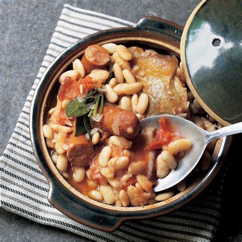 cuisiner un cassoulet recette cassoulet haricots tarbais