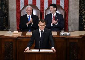 Macron takes aim at Trump on climate change in speech to U ...