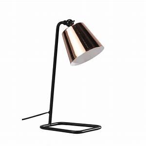 Lampe De Bureau Cuivre : lampe de bureau orientable en m tal cuivr h 40 cm walter ~ Teatrodelosmanantiales.com Idées de Décoration