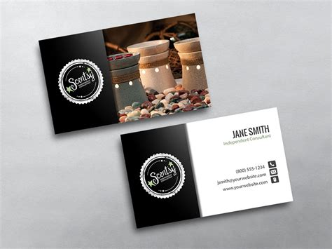 scentsy business cards  shipping