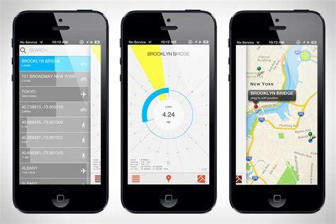 Crowsflight Web App Design Travel App App