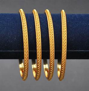 One-Gram-Jewellery Bangels Bangles-20 Four-Gold-Bangles