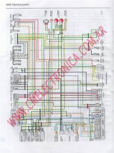 Diagrama Honda Rvf400r