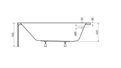 robinet de cuisine design baignoire veneto baignoire design mobilier salle de