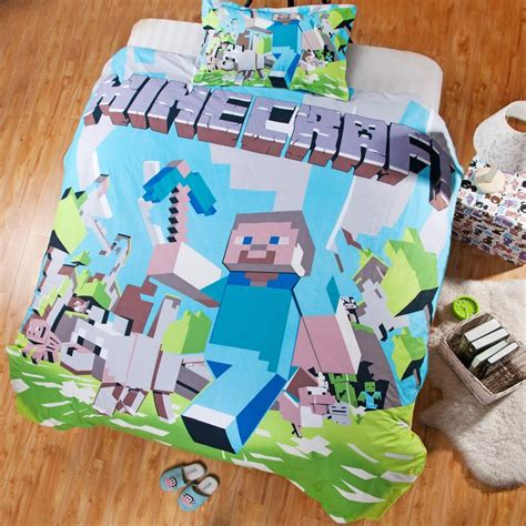 minecraft bedding set twin kids bedding duvet bedding