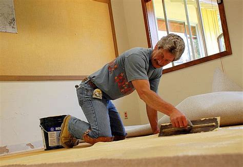 Knee Pads For Flooring Installers by Would You Self Install Carpet