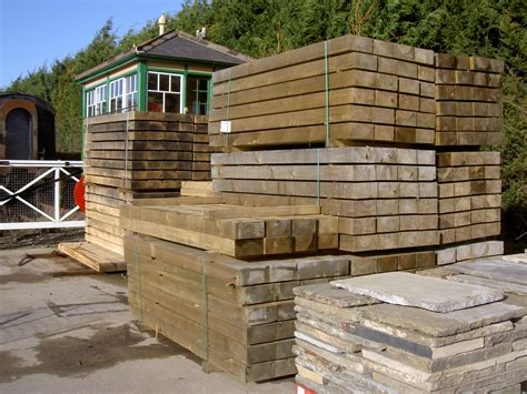 Softwood Sleepers by Railway Sleepers New Softwood Sleepers Products