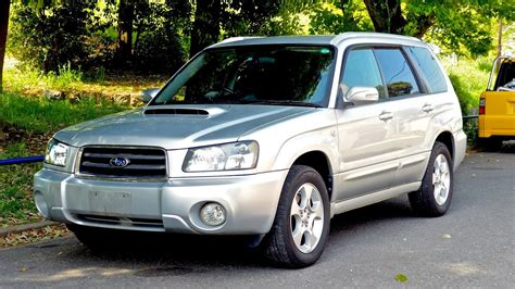 2002 Subaru Forester Turbo Sg5 (canada Import) Japan