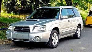 2002 Subaru Forester Turbo Sg5  Canada Import  Japan