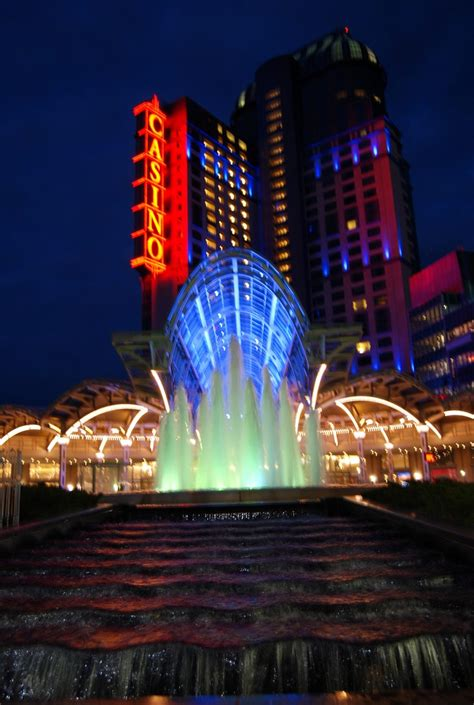 Night View Of The Fallsview Casino Niagara Falls Details