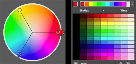 color wheel adobe illustrator s colour harmonies