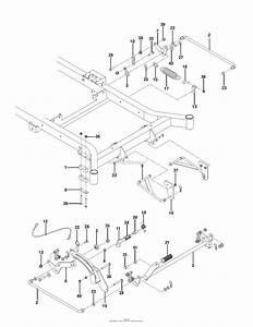Husqvarna Mz 52   Deck Lift