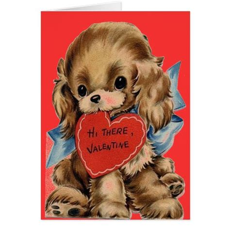 Maybe you would like to learn more about one of these? PUPPY DOG VALENTINES - VALENTINES DAY - VALENTINE CARD | Zazzle