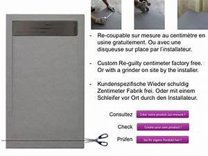 Bac De Douche à L Italienne : receveurs de douches longueur 180 receveur de douche 180 ~ Premium-room.com Idées de Décoration