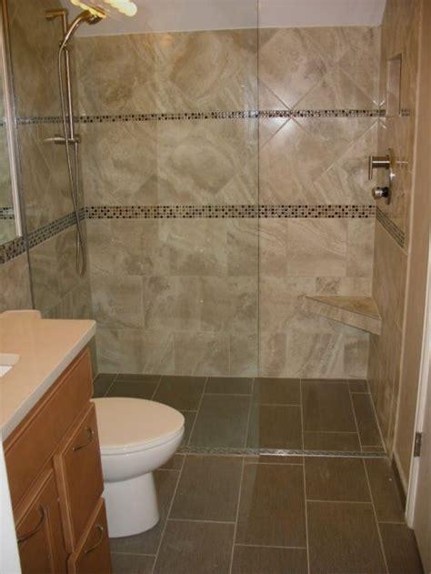 Shower   Curb Shower Remodel Tile Walk