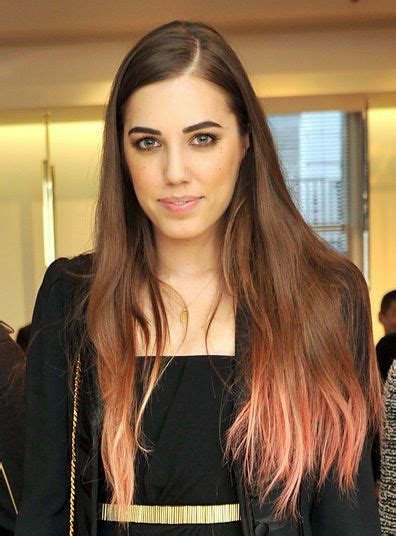 Natural Brunette Brown Hair With Pale Light Pink Pastel