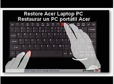 Restaurar un PC portátil ACER ASPIRE 5741 de Fabrica