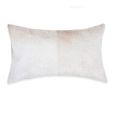 Torino Cowhide Pillow by Torino Cowhide Oblong Throw Pillow Bed Bath Beyond