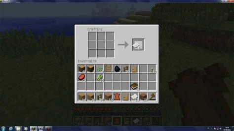 minecraft comment cr 233 er du papier deslivres et une