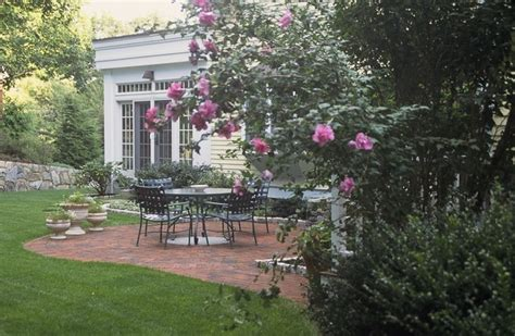 england residential project traditional patio boston  elliott brundage landscape