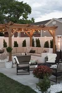patio design ideas Transitioning the Backyard for Fall - Room for Tuesday Blog