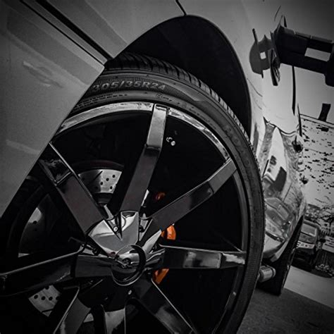 kmc wheels km651 slide gloss black wheel with clearcoat 22x9 5 quot 6x135 139 7mm 38mm offset