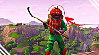 fortnite   tomato head skin  pickaxe