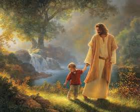 Take My Hand Painting by Greg Olsen