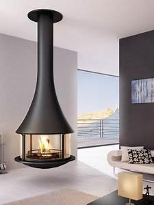 Cheminée Centrale Prix : cheminee suspendue pas cher ~ Premium-room.com Idées de Décoration