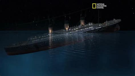 the gallery for gt titanic sinking animation national