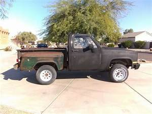 Chevy Stepside 4x4 Pickup Truck 1975 4wd Square Body K
