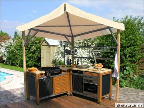 cuisine d été couverte aménager une cuisine d 39 été conseils et idées travaux com
