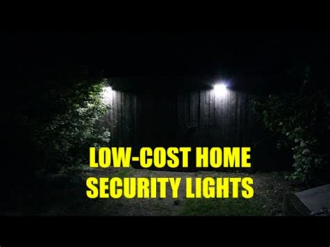low cost home security lights motion detector 400 lumen